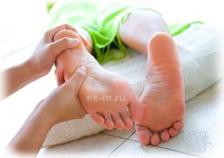 массаж ног спб